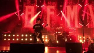 getlinkyoutube.com-Bullet For My Valentine - Scream Aim Fire (with fan on guitar) @Gasometer 13.11.2016