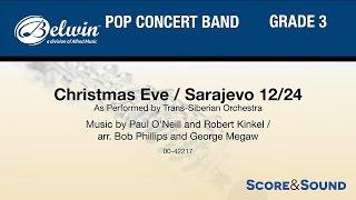 getlinkyoutube.com-Christmas Eve/Sarajevo 12/24, arr. Bob Phillips and George Megaw - Score & Sound