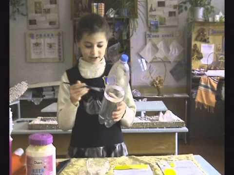Новогодний заяц из пластиковой бутылки