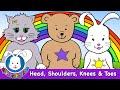 Head Shoulders Knees and Toes - Nursery Rhymes and Kids Songs