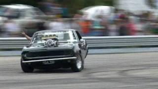 Drift Camaro - How To Enjoy a Blown Big Block Chev!