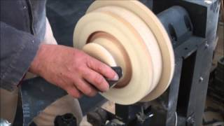 getlinkyoutube.com-plato  para tornos de madera artesanal, una opción cuando no tenemos un plato longworth .
