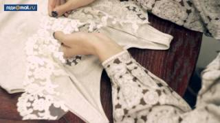 getlinkyoutube.com-Как декорировать майку кружевом и бусинами