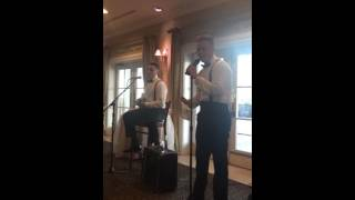 getlinkyoutube.com-BEST MAN TOAST!! Maddie and Spencer 2016 Best Man Toast Don't Worry, You're Married