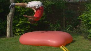 getlinkyoutube.com-Giant 6ft Water Balloon - The Slow Mo Guys
