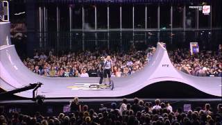 getlinkyoutube.com-REPLAY - FISE World Montpellier 2015 - BMX Spine Ramp Qualifications