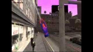 getlinkyoutube.com-San andreas Spiderman Web Swinging Mod Released