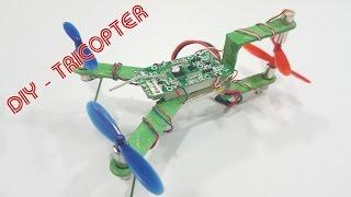 getlinkyoutube.com-How To Make A Tricopter Mini Using Popsicle sticks