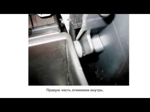 Замена салонного фильтра Mitsubishi Lancer 9