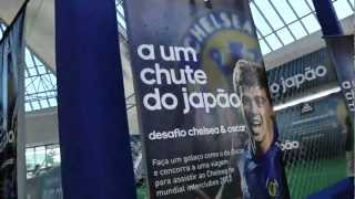 Adidas Oscar challenge   Brazilians try & copy Chelsea star with a Golazo