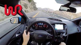 getlinkyoutube.com-2017 Ford Focus RS - WR TV POV Canyon Drive