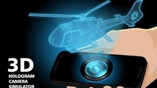 getlinkyoutube.com-Como Hacer Un Proyector De Holograma Casero Con El Celular 2016