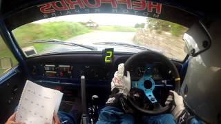 getlinkyoutube.com-Jersey Rally 2013 St Ouens Stage First Run Steve Leonard Sion Humpreys