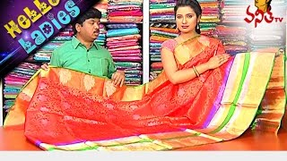 getlinkyoutube.com-Lightweight Kanchi Pattu And Chidambaram Silk Sarees || Hello Ladies || Vanitha TV