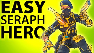 getlinkyoutube.com-BLACK OPS 3 - EASY GOLD SERAPH HERO ARMOR