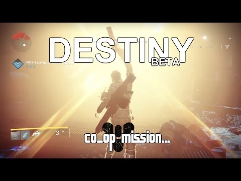 Destiny Beta Getting in to the Devils lair (Co-op 2 cameras)