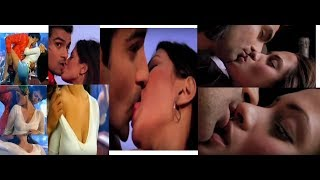 Riya sen hot kiss and seaxy boobs bouncing  in  best repeat slow moition