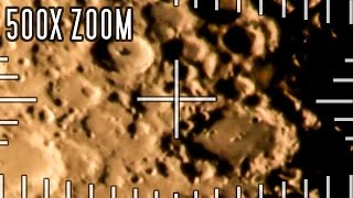 getlinkyoutube.com-Mega zoom in on the moon - 500x