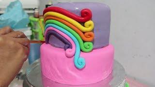 Kuda Poni - Cara Membuat Kue Ulang Tahun Anak Perempuan - Mainan Kuda Poni width=