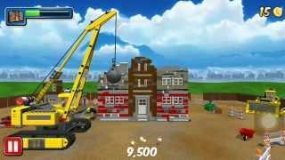 getlinkyoutube.com-เลโก้ ทีมก่อสร้าง ใช้รถตักดิน แปลงเป็นรถทุบทำลายตึก สร้างร้านกาแฟใหม่ EP 4