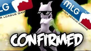 MEWTWO CONFIRMED FOR SSB4!!1! - (An MLG Vid Parody :]) - YouTube