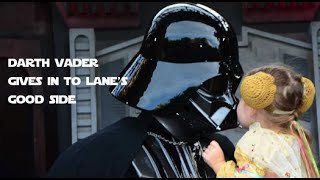 Darth Vader Learns the Power of the Lane Side