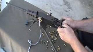 getlinkyoutube.com-miniature machinegun M2HB 17HMR rimfire beltfed by Lakeside Machine