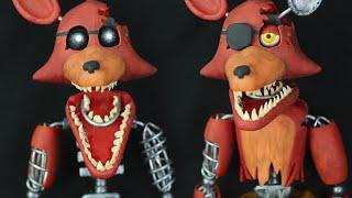 "getlinkyoutube.com-IGNITED FOXY & OLD FOXY  ""TUTORIAL"" ✔POLYMER CLAY"
