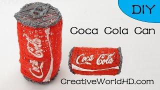 getlinkyoutube.com-Coca Cola Can 3D- How to Tutorial 3D Printing Pen/Scribbler DIY