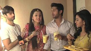 getlinkyoutube.com-Swaragini - Varun, Helly, Namish and Tejaswi aka Sanskar, Swara, Laksh and Ragini's DEMAND