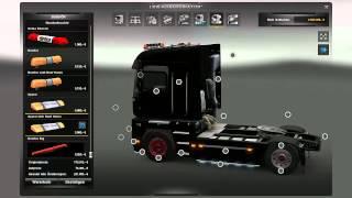 getlinkyoutube.com-Euro Truck Simulator 2 Truck tuning #7 Renault Magnum 200kmh