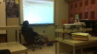 Student fucking with teachers computer
