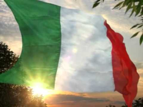 Inno Nazionale d'Italia cantato/National Anthem of Italy sung.