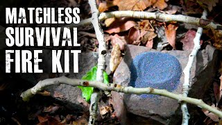 "getlinkyoutube.com-Make a ""Matchless"" Survival Fire Kit"