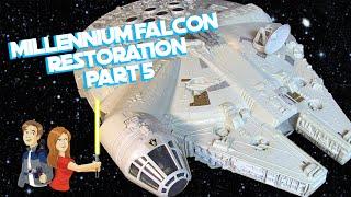 getlinkyoutube.com-Star Wars Vintage Millennium Falcon Restoration - Part 5/5 Kenner