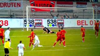 Holland vs Romania 1-0 Van Der Vaart Goal