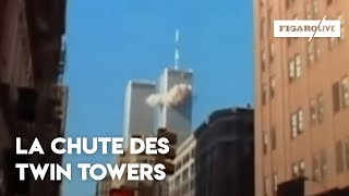getlinkyoutube.com-11 Septembre 2001 : la chute des Twin Towers - Le Figaro