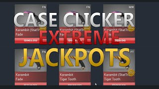 getlinkyoutube.com-CSGO Case Clicker - Extreme Jackpots [$8000+]