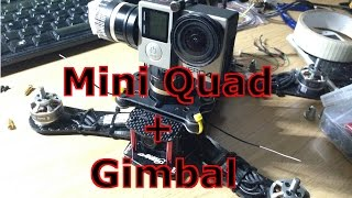 getlinkyoutube.com-Mini Quad FPV - Feiyu Mini3D 3-Axis Camera Gimbal Test - Small Aerial Filming Platform