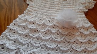getlinkyoutube.com-Vestido Blanco Crochet parte 2 de 3