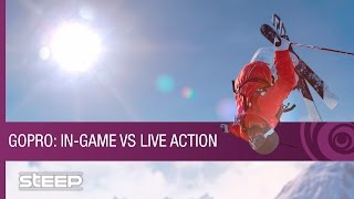 Steep - GoPro Gameplay Trailer: In-Game Vs. Live Action