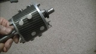 getlinkyoutube.com-Convert Induction Motor Into A Generator