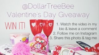 getlinkyoutube.com-Dollar Tree Haul with GIVEAWAY (closed) - Valentine's Day 2015 Edition