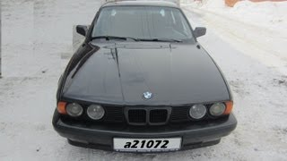 getlinkyoutube.com-BMW E34(525).Легенды 90-х.Тест-драйв.Anton Avtoman.
