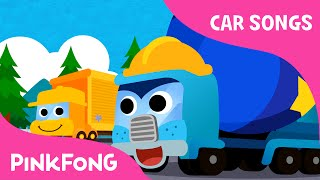 getlinkyoutube.com-Super Trucks | Car Songs | PINKFONG Songs for Children