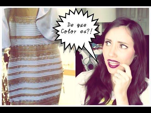 Se Revela el misterio del VESTIDO que cambia de color! Mystery of the color changing dress reveal!!!