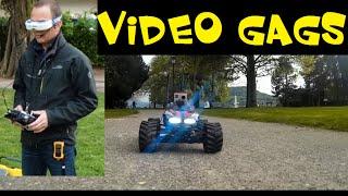 getlinkyoutube.com-PRANKS - VOICE ON FPV RC CAR - VIDEO GAGS - FUNNY JOKES
