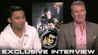 Tony Jaa and Dolph Lundgren Interview - Skin Trade (HD) 2015 width=