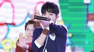 151007 청주 쇼챔피언 세븐틴(SEVENTEEN) 에스쿱스(최승철) 만세 직캠