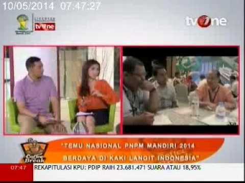 Bincang Coffee Break TVOne - Temnas PNPM 2014: Berdaya di kaki Langit Indonesia